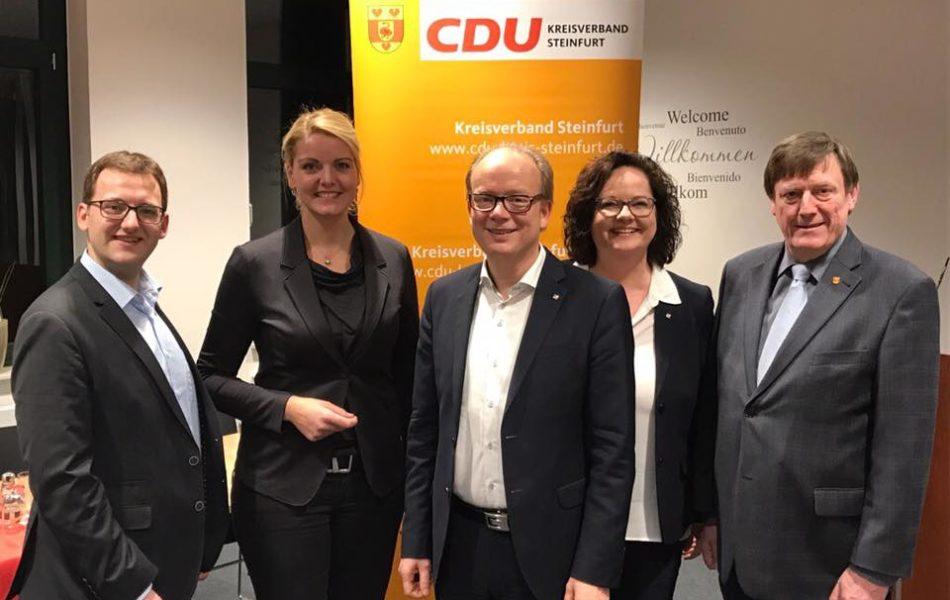Veranstaltung mit CDU Kommunalexperte Andre Kuper MdL