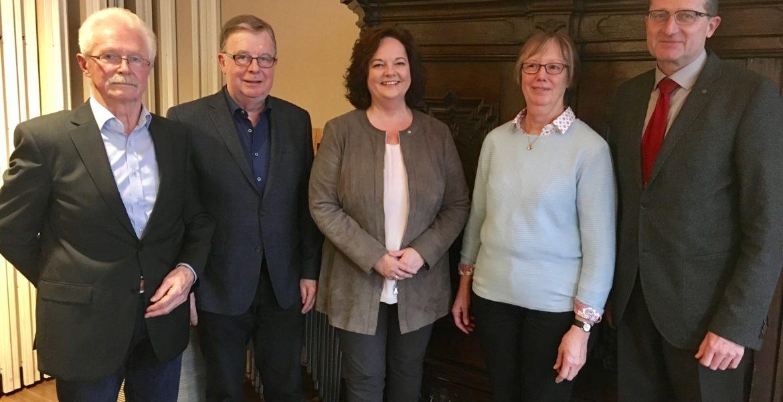 Glückwünsche an den neuen Vorstand der Senioren Union Rheine
