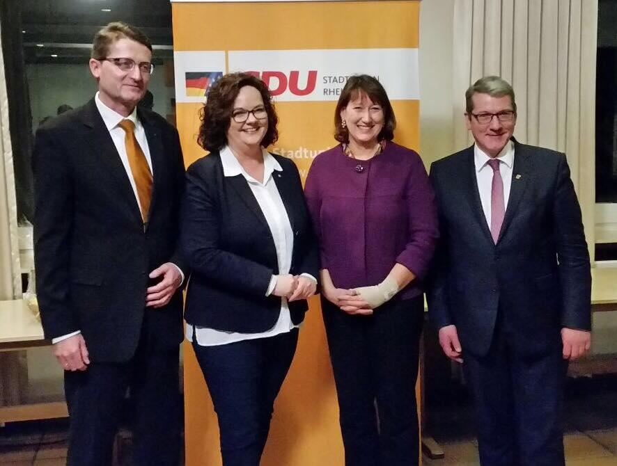 Neujahrsempfang der CDU Rheine