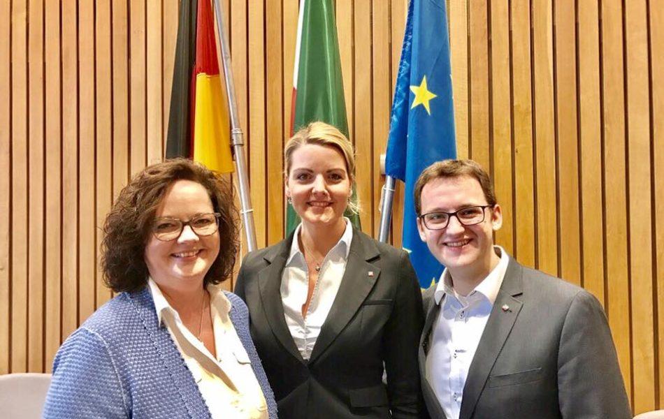 Spannender Tag: Zu Gast in der CDU-Landtagsfraktion in Düsseldorf