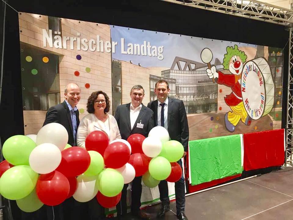 Treffen der münsterländischen CDU-Landtagsabgeordneten und -Kandidaten in Düsseldorf