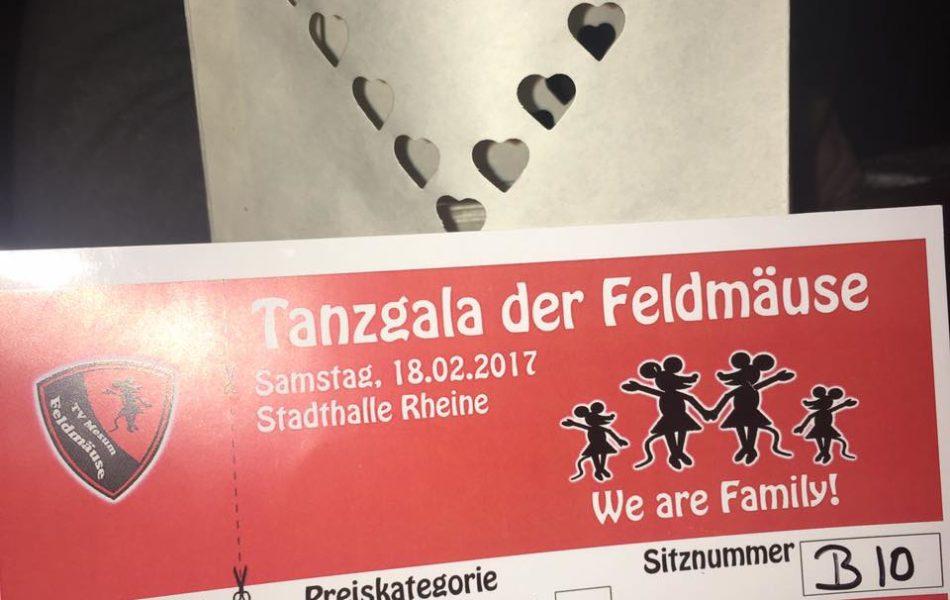 Tanzgala der Mesumer Feldmäuse in der Stadthalle Rheine