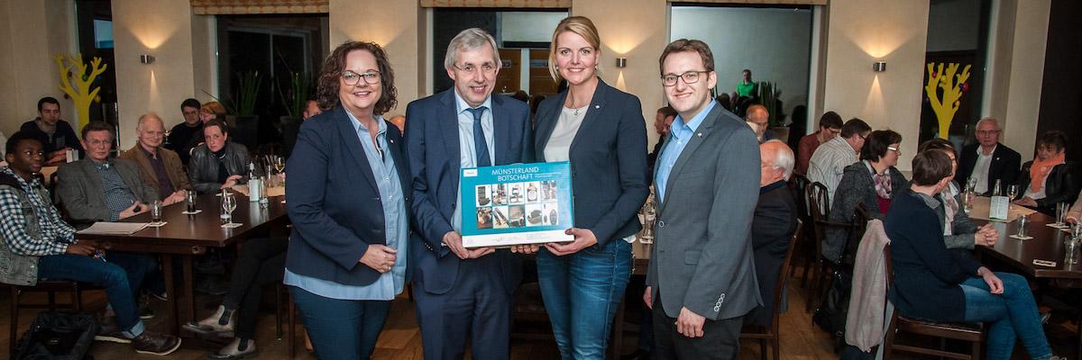 Veranstaltung zum Thema Schulpolitik mit Klaus Kaiser MdL in Neuenkirchen