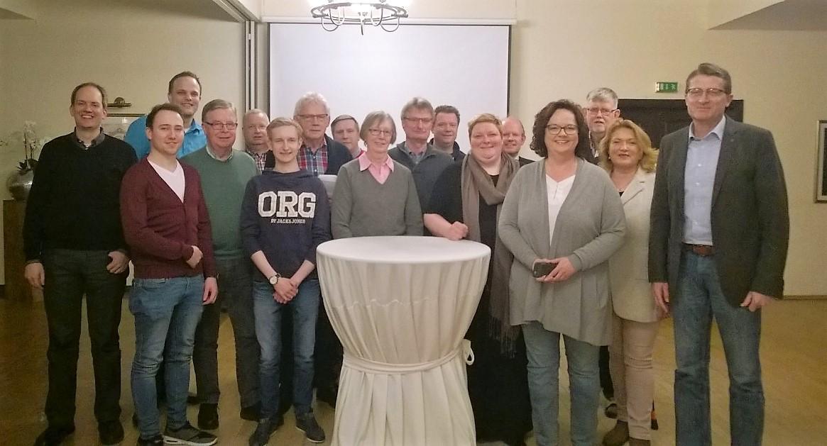 CDU-Stadtunion Rheine startet geschlossen in den Landtagswahlkampf
