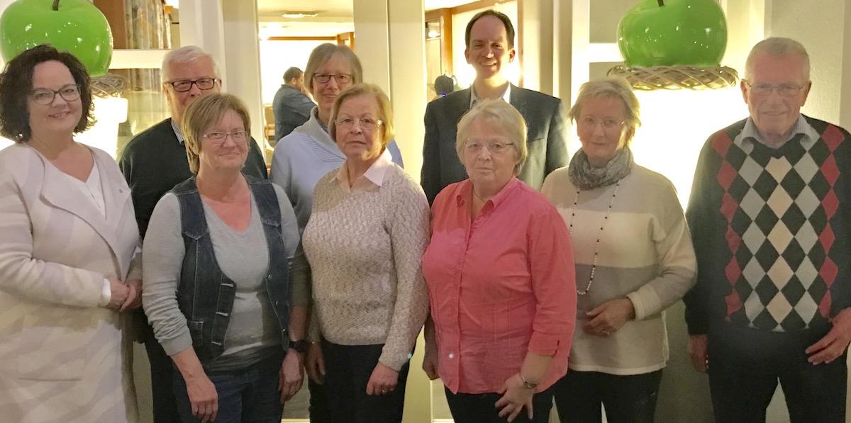 CDU-Landtagskandidatin zu Gast  bei ehemaligen Ratsmitgliedern