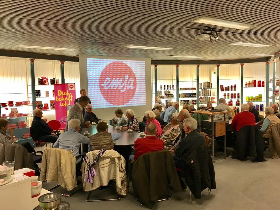 Besuch bei EMSA in Emsdetten mit der Seniorenunion Saerbeck