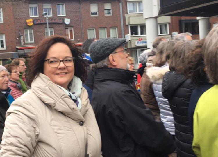 #pulseofeurope in Rheine