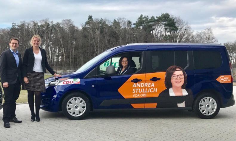 Das Wahlkampf-Mobil ist da!