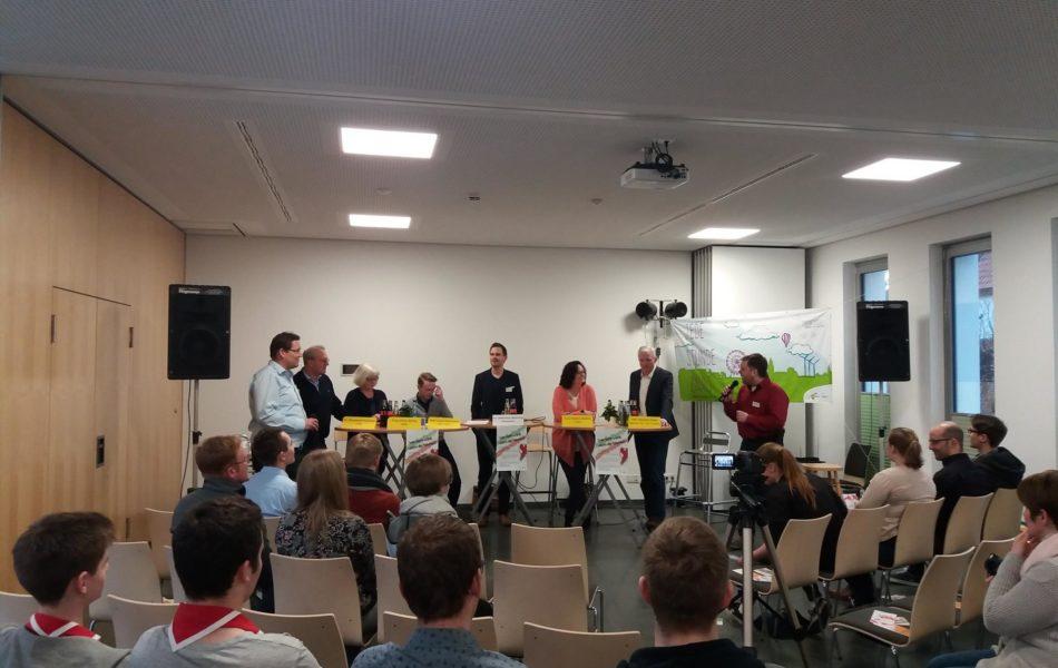 Podiumsdiskussion von BDKJ und Stadtjugendring in Steinfurt