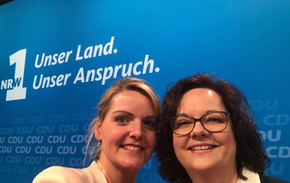 Wahlkampfauftakt der CDU NRW beim 39. Landesparteitag in Münster