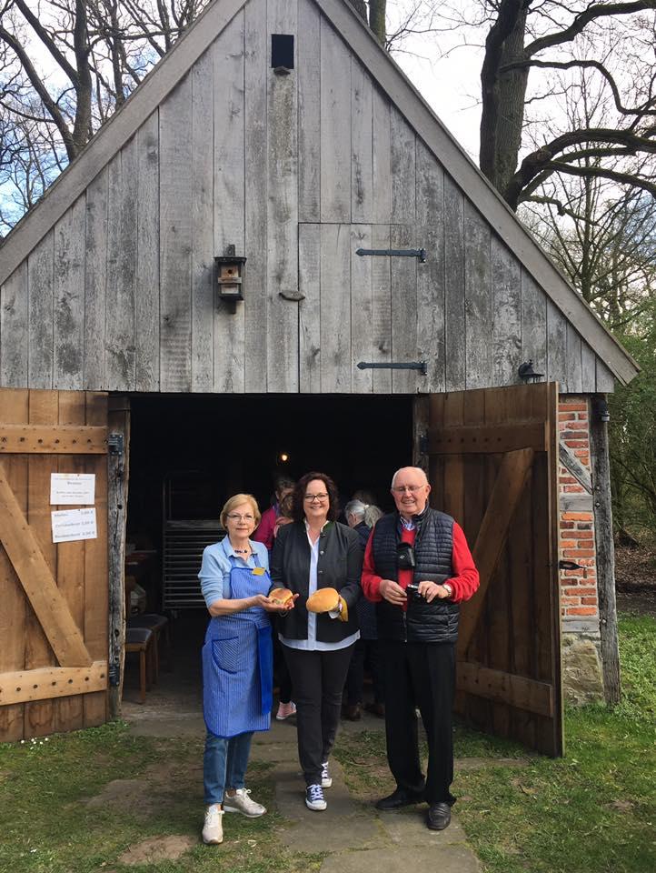 Besuch am Heimathaus Hovesaat in Rheine