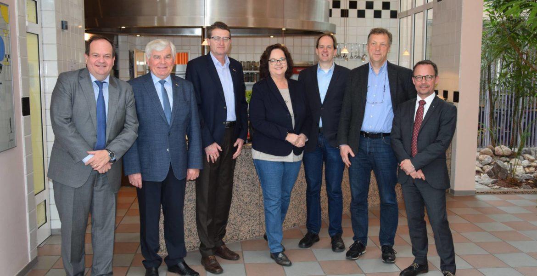 Firmenbesuch bei apetito in Rheine