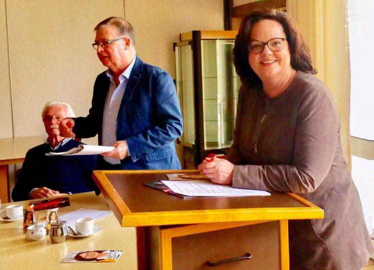 Gespräch mit der Senioren-Union Rheine