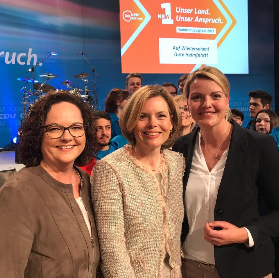 Wahlkampfauftakt der CDU NRW in Düsseldorf