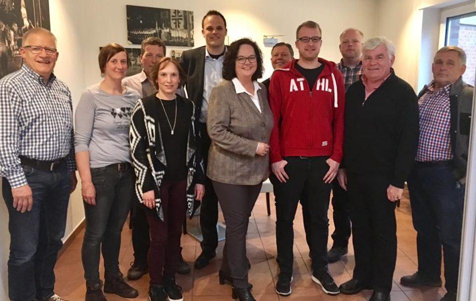 Gespräch Schwimmvereine in Rheine (SV Rheine, DLRG und TV Jahn)