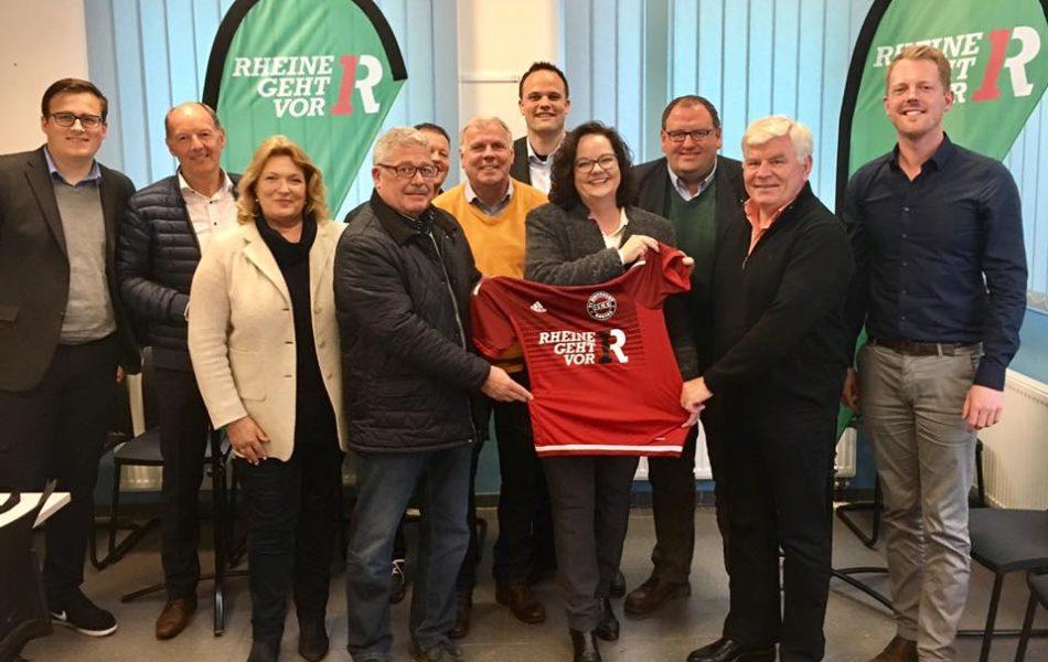 Besuch beim FC Eintracht Rheine