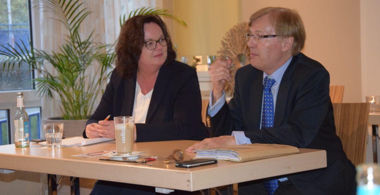 Veranstaltung mit Peter Biesenbach MdL in Rheine