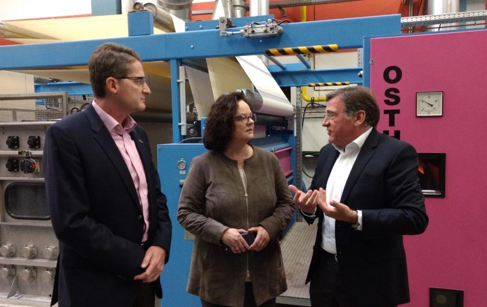 Entbürokratisierung würde Unternehmen am besten helfen – CDU-Landtagskandidatin Andrea Stullich besuchte Textilunternehmen Kettelhack