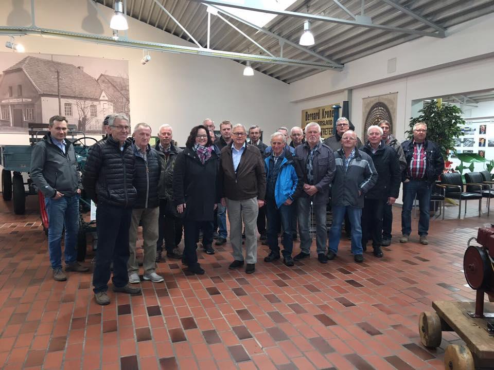 Besuch der CDU Dreierwalde im Krone-Museum in Spelle