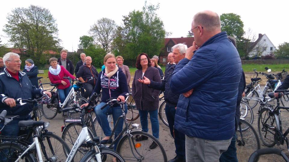 Fahrradtour der CDU Riesenbeck
