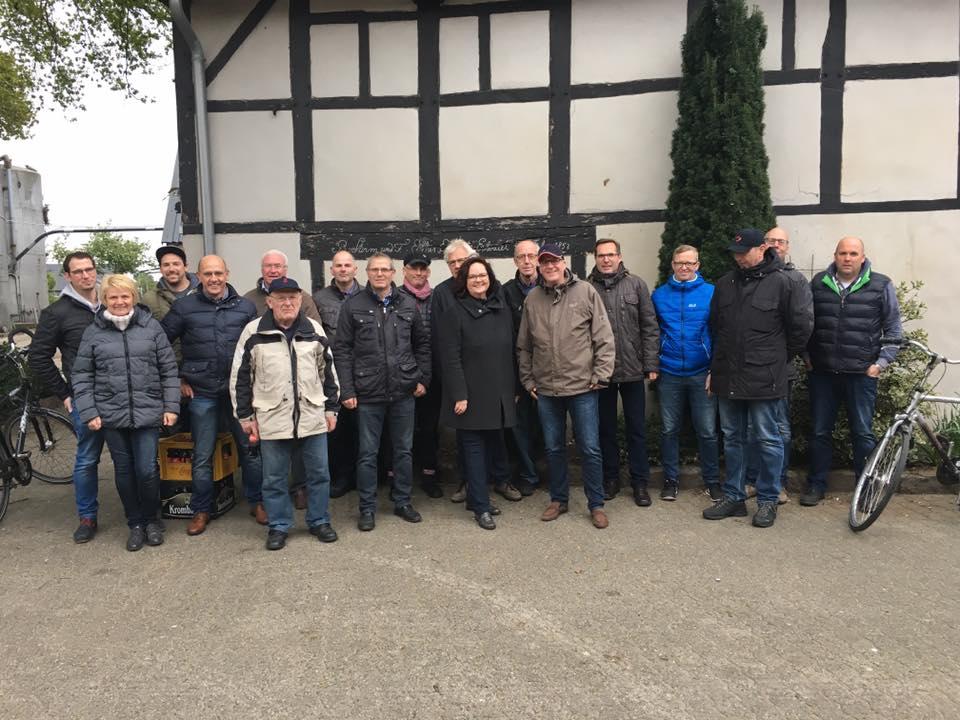 Radtour mit der CDU Altenrheine