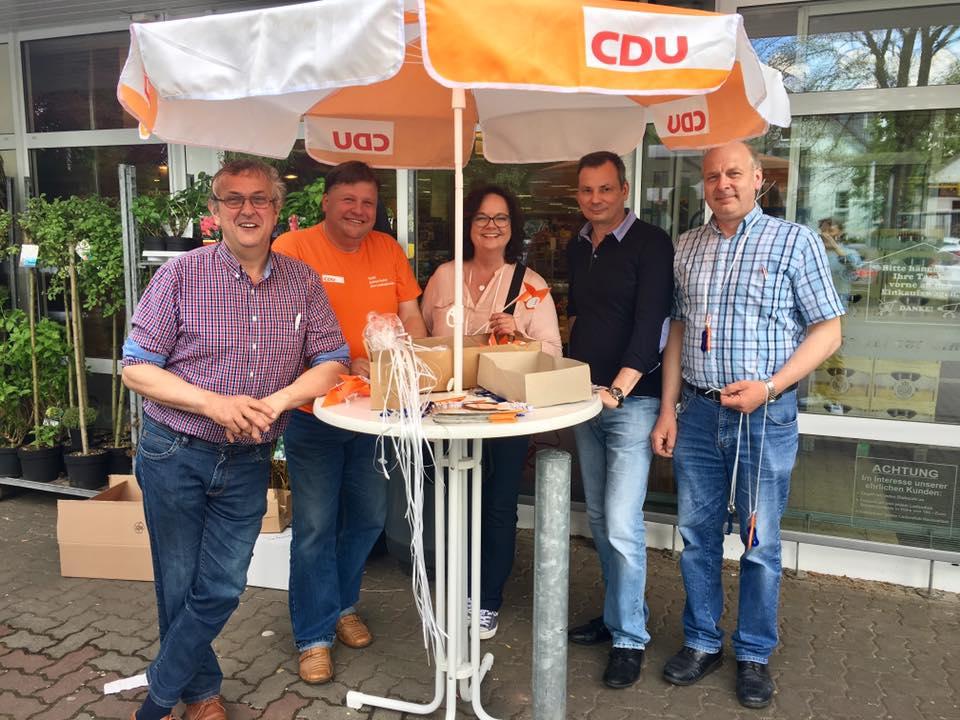 Infostand der CDU Ladbergen