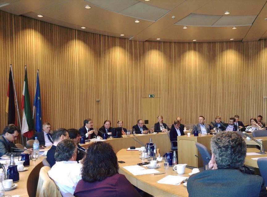 Sitzung der CDU-Landtagsfraktion in Düsseldorf