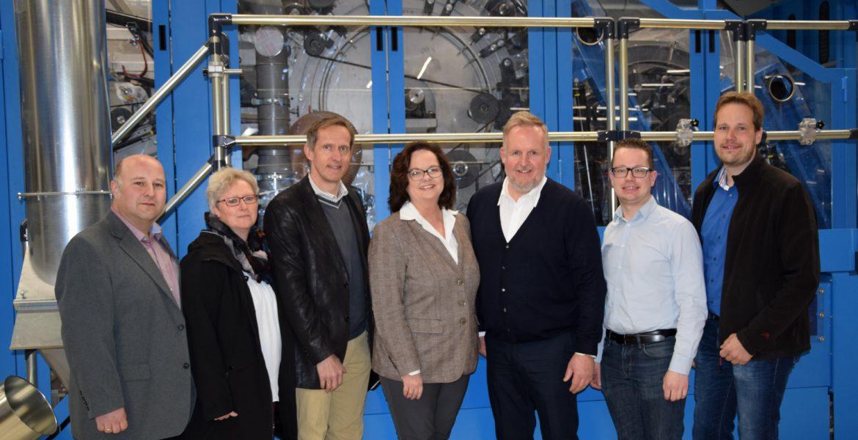CDU-Landtagskandidatin Andrea Stullich besucht BNP Brinkmann in Bevergern