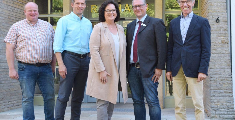 Besuch bei Bürgermeister Ostholthoff in Hörstel