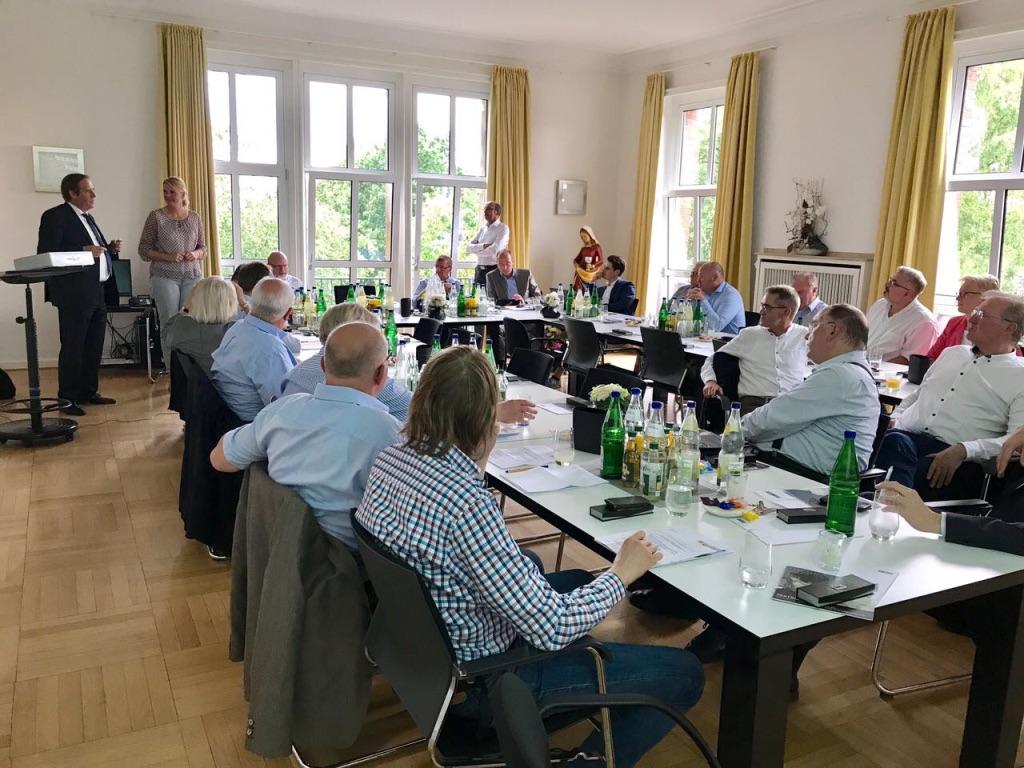 CDU-Kreisvorstand bei der RAG Anthrazit in Ibbenbüren