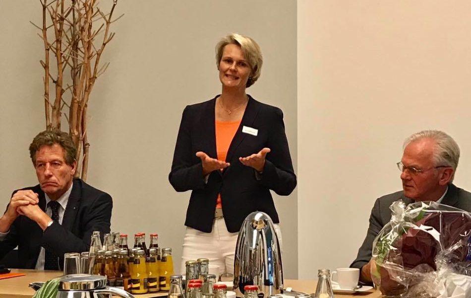 Sitzung des Wirtschaftsrates der CDU mit Anja Karliczek MdB in Hörstel.