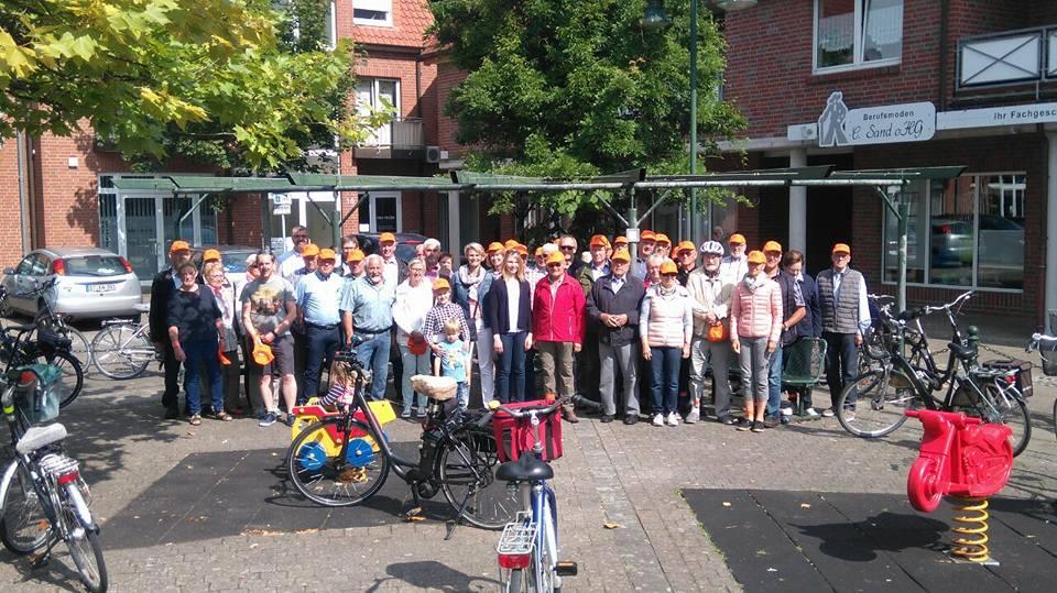 Bürger-Radtour der CDU Hörstel mit MdB Anja Karliczek
