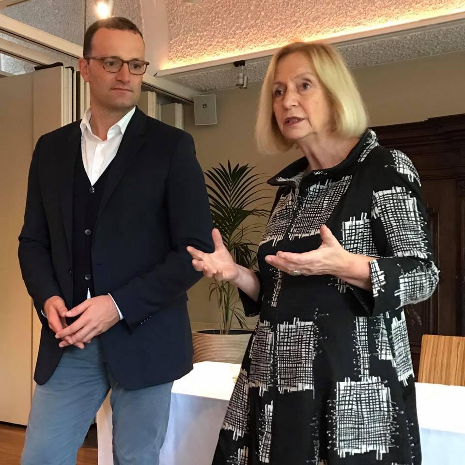 Veranstaltung mit Bildungsministerin Prof. Wanka und Parl. Staatssekretär Jens Spahn in Rheine