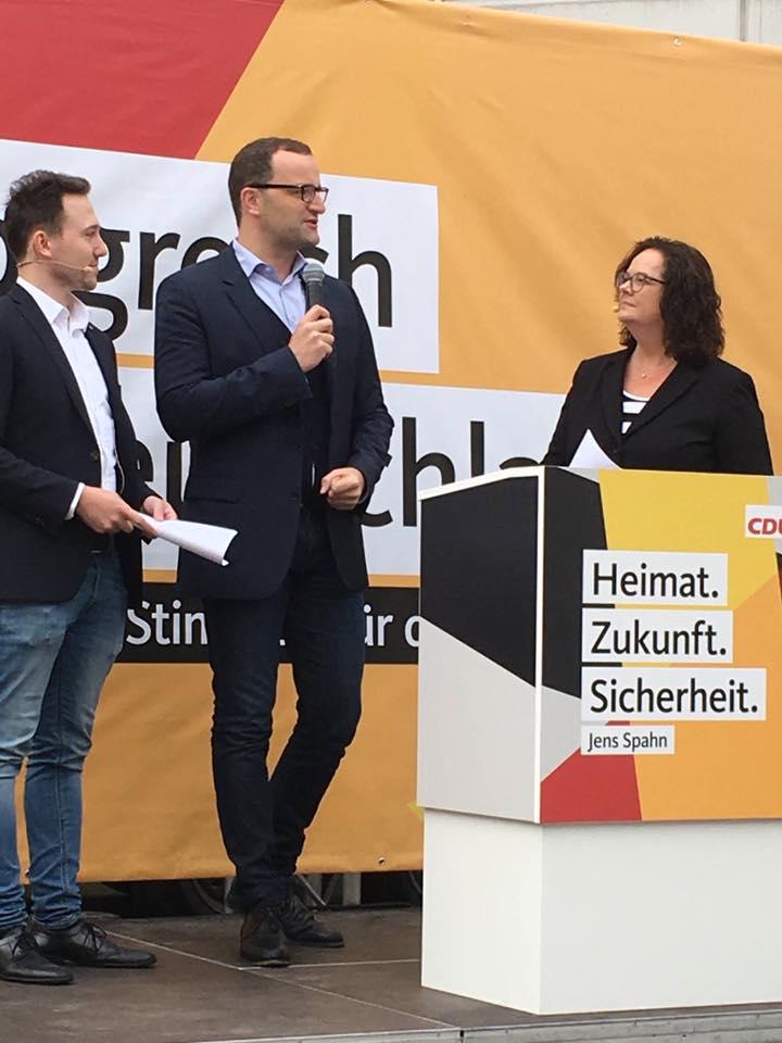 Wahlkampfabschluss von Jens Spahn MdB in Rheine