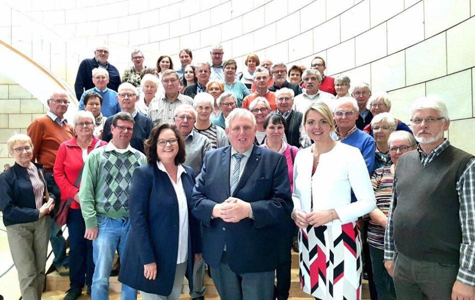Besuchergruppe der CDU Hörstel zu Gast im Landtag