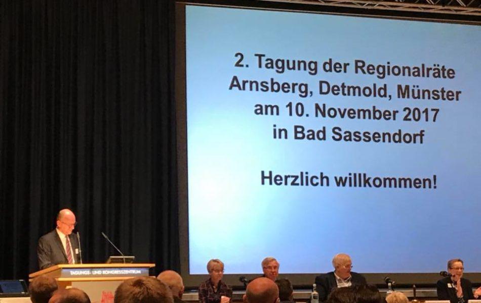 Spannende Ideen, wie die Digitalisierung die Zukunftsfähigkeit ländlicher Räume gestalten kann, bei der gemeinsamen Tagung der Regionalräte in Westfalen.