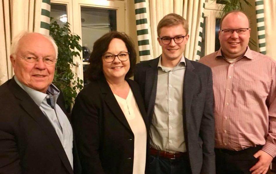 Kreisversammlung der Jungen Union im Kreis Steinfurt mit Vorstandsneuwahlen