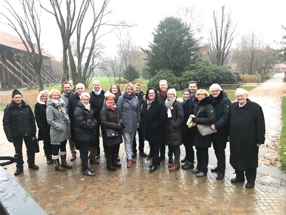 Adventsfeier der CDU-Münsterlandrunde mit Ehemaligen Abgeordneten an der Saline Gottesgabe in Rheine