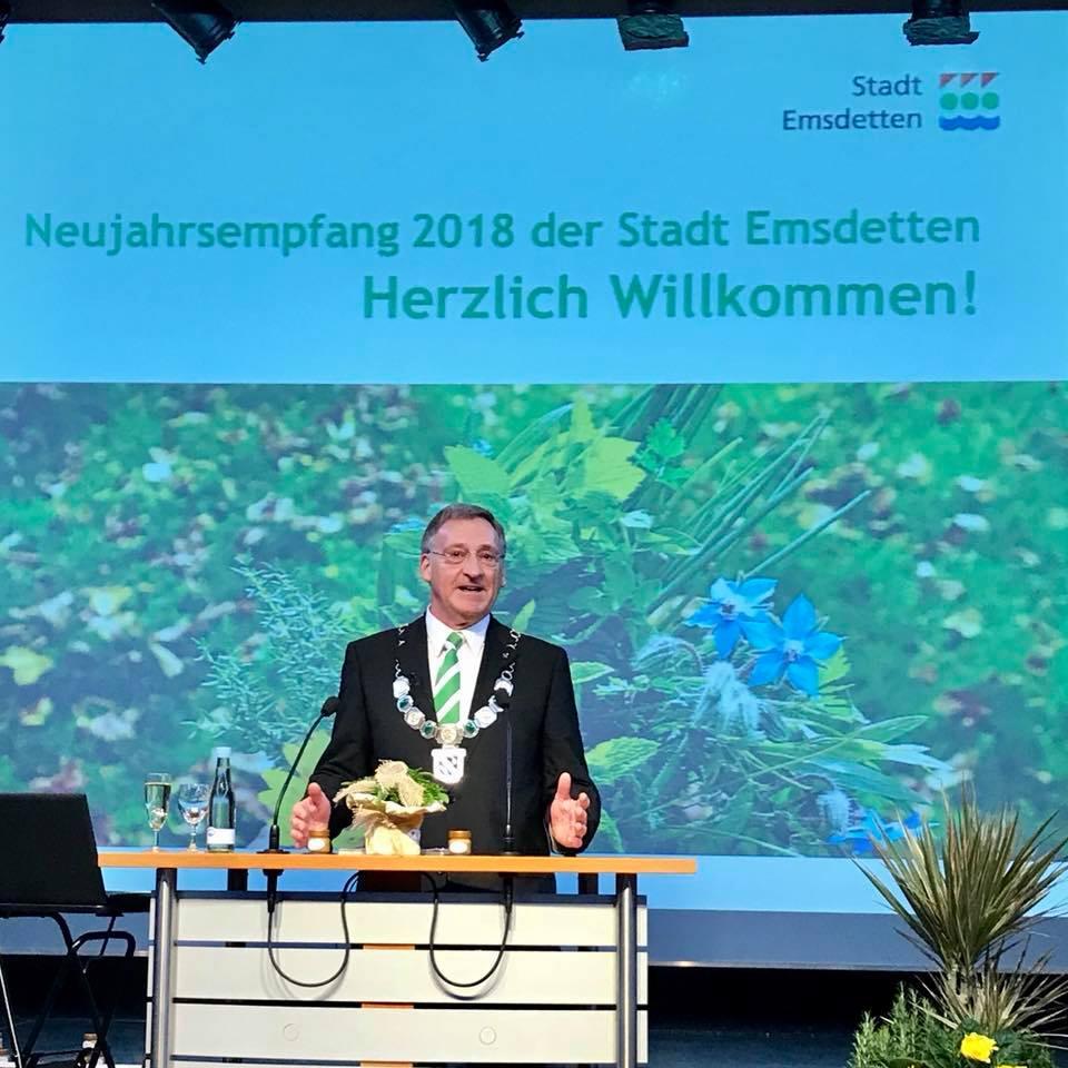 Neujahrsempfang der Stadt Emsdetten