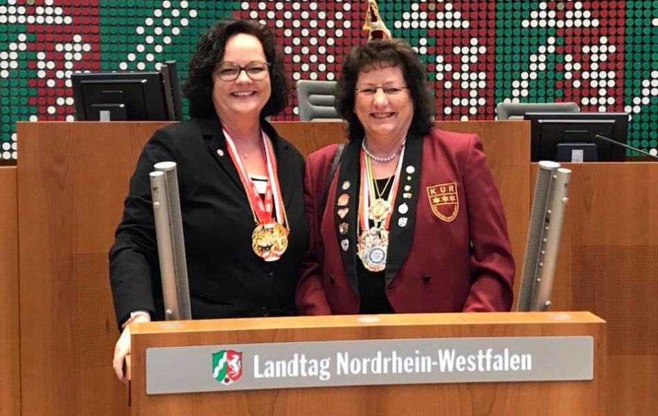 Närrischer Landtag in Düsseldorf
