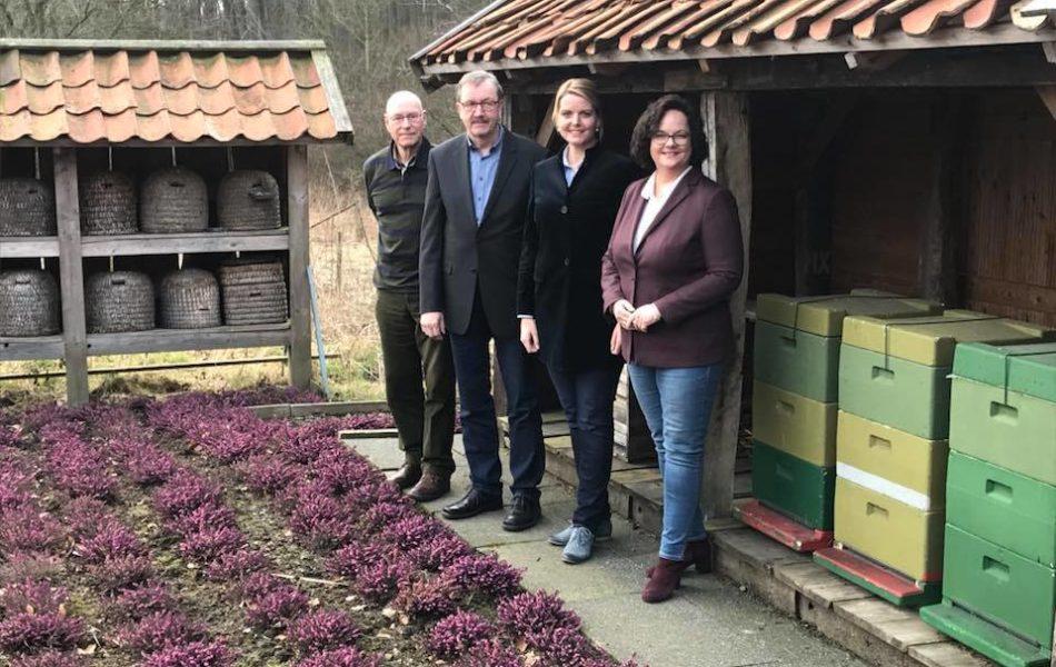 Gespräch mit dem Kreisimkerverein des Kreises Steinfurt