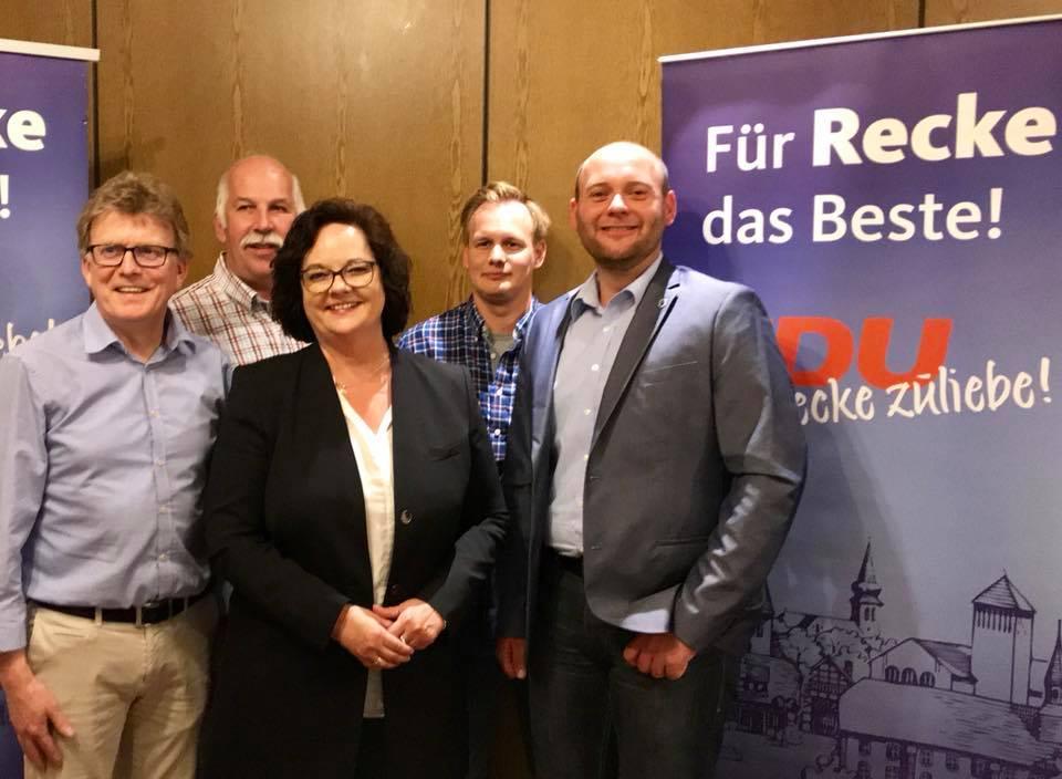 Mitgliederversammlung der CDU Recke