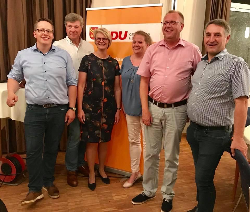 Spargelessen der CDU Riesenbeck mit Bundesbildungsministerin Anja Karliczek MdB