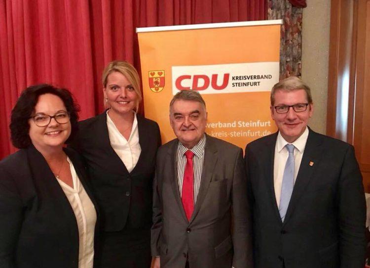 Veranstaltung der Kreis-CDU zur inneren Sicherheit mit NRW-Innenminister Herbert Reul