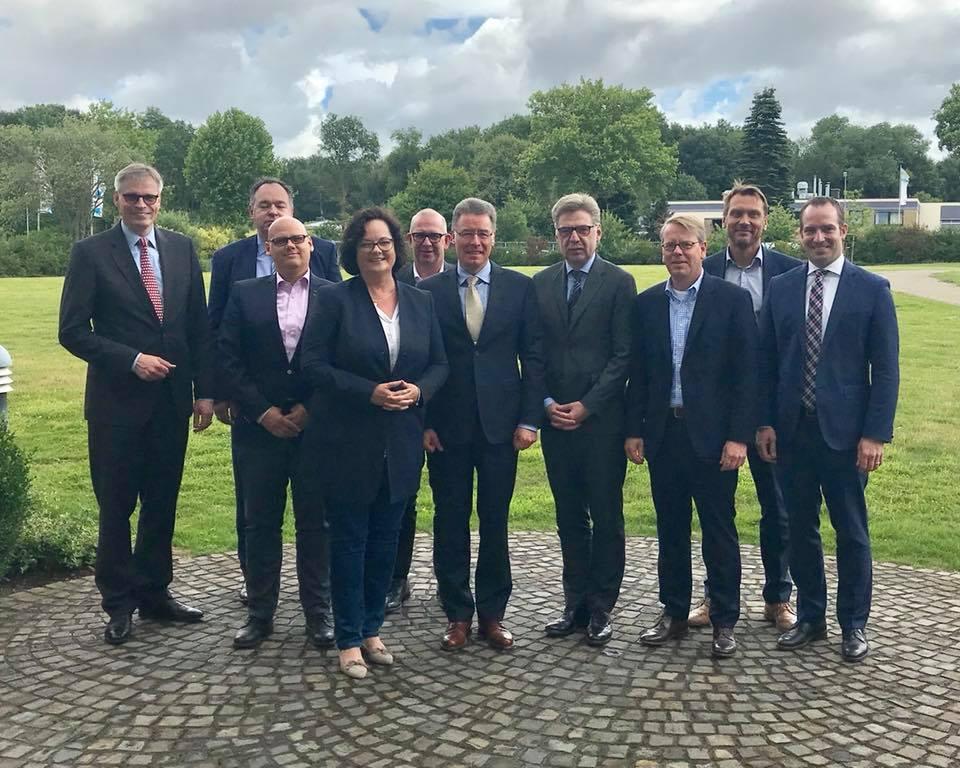 Treffen mit den westfälischen Zeitungsverlegern in Münster