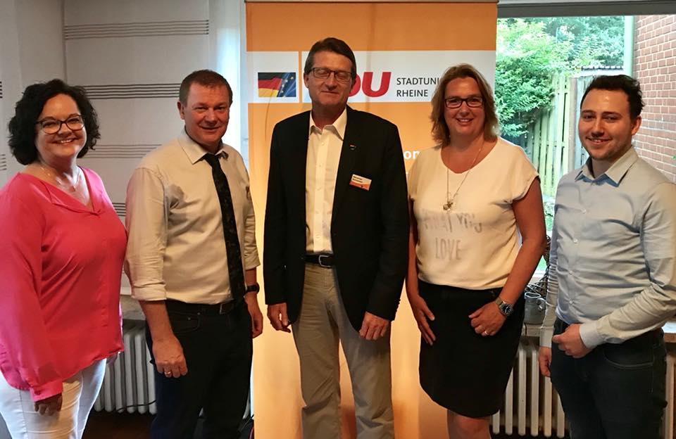 Dr. Markus Pieper MdEP bei der Mitgliederversammlung der CDU Rheine