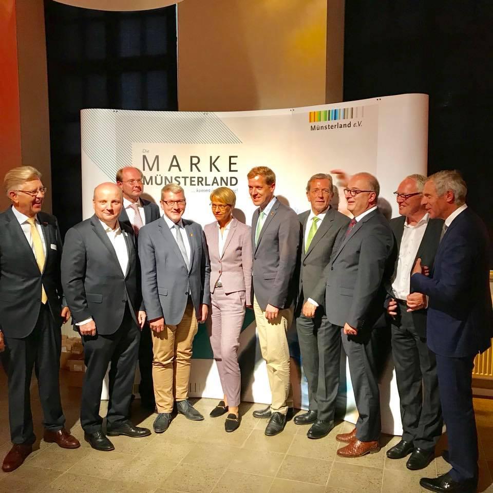 """Vorstellung der """"Marke Münsterland"""" in Münster"""