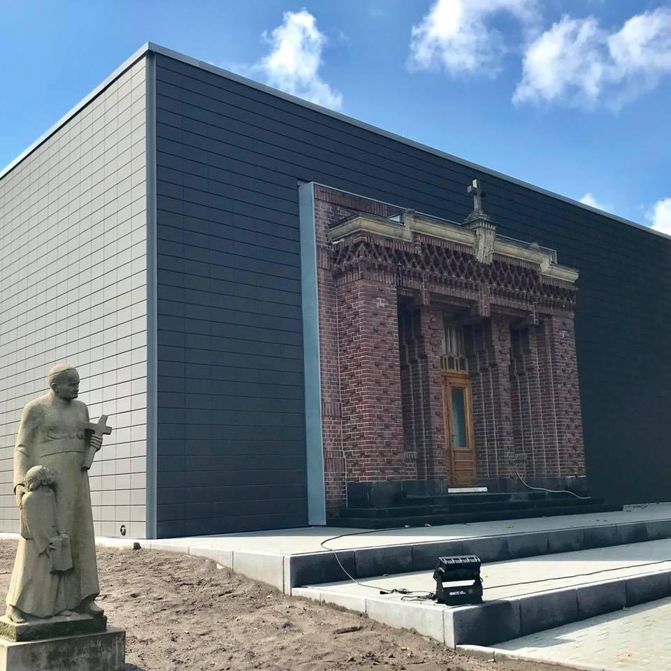 Einweihung des Neubaus am Arnold-Janssen-Gymnasium in Neuenkirchen