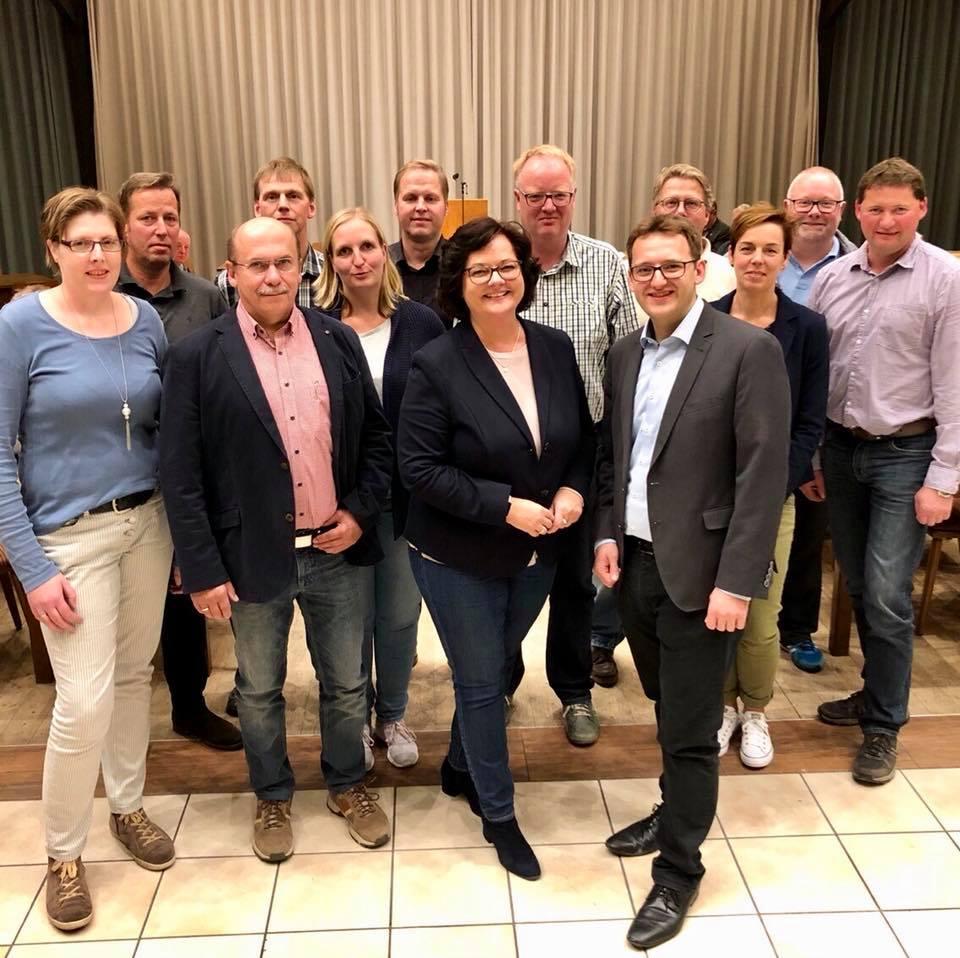 Mitgliederversammlung der CDU Hopsten / Schale / Halverde