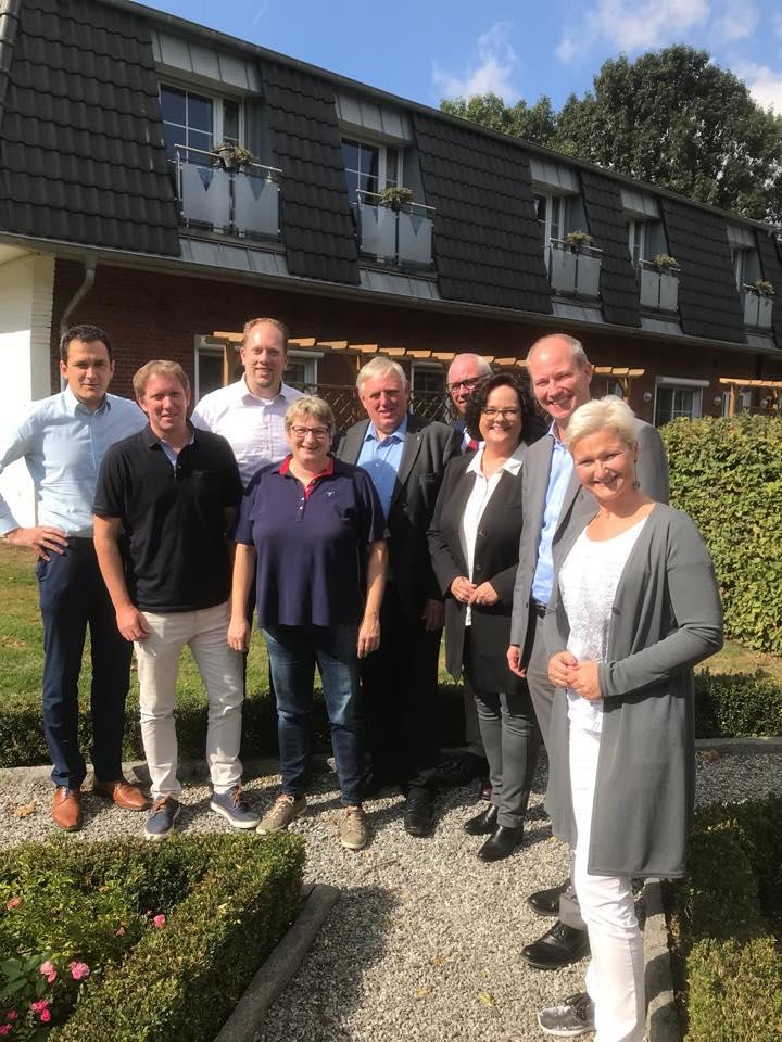"""Klausurtagung mit dem CDU-Arbeitskreis """"Arbeit, Gesundheit und Soziales"""" und Minister Karl-Josef Laumann"""